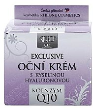 Düfte, Parfümerie und Kosmetik Augencreme - Bione Cosmetics Exclusive Organic Eye Cream With Q10