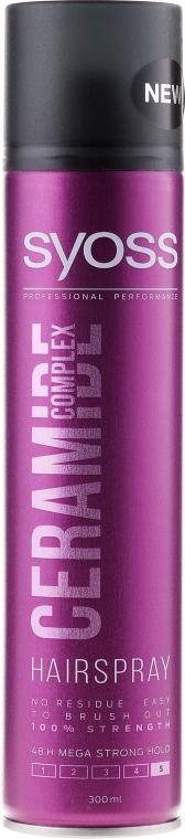 "Haarspray ""Ceramide Complex"" Mega starker Halt - Syoss Ceramide Complex — Bild N1"