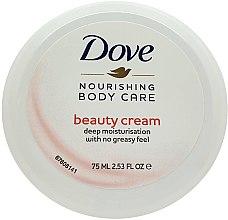 Düfte, Parfümerie und Kosmetik Feuchtigkeitsspendende und pflegende Körpercreme - Dove Beauty Cream