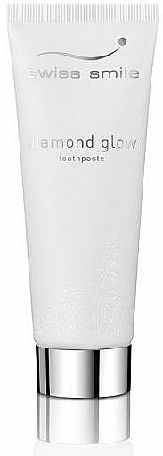 Aufhellende Zahnpasta - Swiss Smile Diamond Glow Brightening Toothpaste — Bild N1