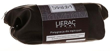 Gesichtspflegeset - Lierac Homme (Anti-Aging Fluid 40ml + Duschgel 200ml + Kosmetiktasche) — Bild N1