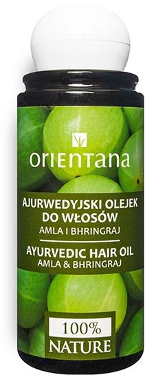 Ayurvedisches Haaröl mit Amla und Bhringraj - Orientana Amla & Bhringraj Ayurvedic Hair Oil — Bild 105 ml