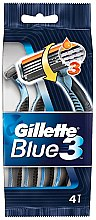 Düfte, Parfümerie und Kosmetik Einwegrasierer 4 St. - Gillette Blue 3