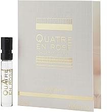 Düfte, Parfümerie und Kosmetik Boucheron Quatre En Rose Eau de Parfum Florale - Eau de Parfum (Probe)