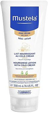 Nährende Körpermilch mit Cold Cream für Babys und Kinder - Mustela Bebe Nourishing Lotion with Cold Cream — Bild N1