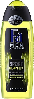 Duschgel - Fa Man Xtreme Energy Boost 3in1 Shower Gel — Bild N1
