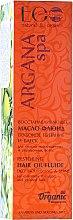 Düfte, Parfümerie und Kosmetik Aufbauendes Pflegeöl für strapaziertes und gefärbtes Haar - ECO Laboratorie Argana SPA Regenerating Oil-Fluid