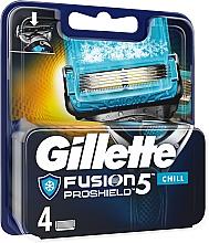 Düfte, Parfümerie und Kosmetik Gillette Fusion ProGlide Ersatzklingen - Gillette Fusion Proshield Chill