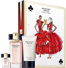 Düfte, Parfümerie und Kosmetik Estee Lauder Modern Muse - Duftset (Eau de Parfum 30ml + Eau de Parfum 4ml + Körperlotion 75ml)
