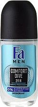 Düfte, Parfümerie und Kosmetik Deo Roll-on Antitranspirant - Fa Men Comfort Dive Deodorant
