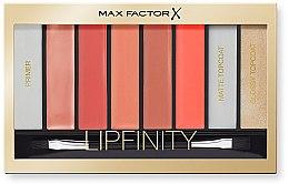 Düfte, Parfümerie und Kosmetik Lippenstiftpalette - Max Factor Lipfinity Palette