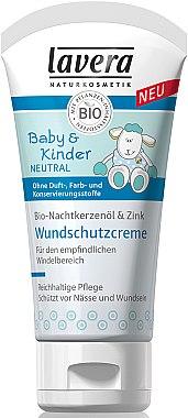 Baby & Kinder Wundschutzcreme mit Zink und Bio-Pflanzenölen für empfindlichen bis neurodermitischen Hautpartien - Lavera Cream — Bild N1