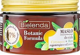 Düfte, Parfümerie und Kosmetik Körperbutter mit Zitrone und Minze - Bielenda Botanic Formula Lemon Tree Extract + Mint Body Butter