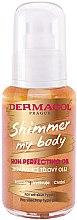 Düfte, Parfümerie und Kosmetik Schimmerndes Mehrzwecköl für den Körper - Dermacol Shimmer My Body Skin Perfecting Oil