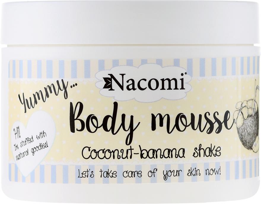 "Körpermousse ""Kokos-Bananen-Shake"" - Nacomi Body Mousse Coconut-Banana Shake"