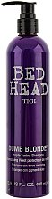 Düfte, Parfümerie und Kosmetik Shampoo - Tigi Dumb Blonde Purple Toning Shampoo