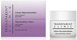 Düfte, Parfümerie und Kosmetik Verjüngende Gesichtscreme mit Kaviarextrakt - Transparent Clinic Crema Rejuvenecedora