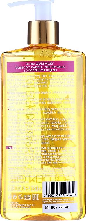 Pflegendes Bade- und Duschöl - Bielenda Golden Oils — Bild N2
