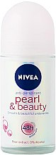 Düfte, Parfümerie und Kosmetik Deo Roll-on Antitranspirant - Nivea Pearl & Beauty for Women Deodorant