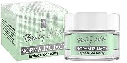 Düfte, Parfümerie und Kosmetik Normalisierendes Gesichtshydrogel mit Pflanzenextrakten - Bialy Jelen Hydrogel