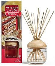 Düfte, Parfümerie und Kosmetik Raumerfrischer Funkelnder Zimt - Yankee Candle Reed Diffuser Sparkling Cinnamon