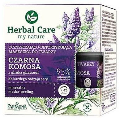 Reinigende Gesichtsmaske mit schwarzer Quinoa - Farmona Herbal Care — Bild N1