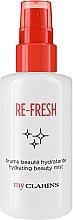 Düfte, Parfümerie und Kosmetik Feuchtigkeitsspendender und erfrischender Gesichtsnebel - Clarins My Clarins Re-Fresh Hydrating Beauty Mist