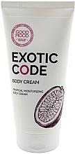 Düfte, Parfümerie und Kosmetik Feuchtigkeitsspendende Körpercreme für trockene und normale Haut - Good Mood Exotic Code Body Cream
