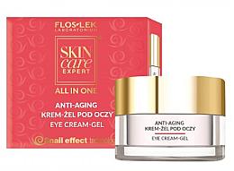 Düfte, Parfümerie und Kosmetik Anti-Aging Augengel-Creme - Floslek Skin Care Expert All In One Anti-Aging Eye Cream-Gel