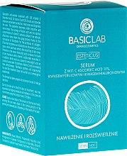 Aufhellendes Gesichtsserum mit Ascorbinsäure 15% - BasicLab Dermocosmetics Esteticus — Bild N1