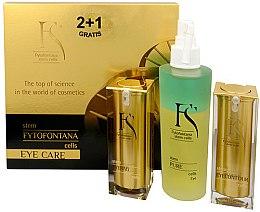 Düfte, Parfümerie und Kosmetik Set - Fytofontana Stem Cells Eye Care Set (ser/15ml + ser/30ml + wat/125ml)