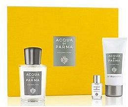 Düfte, Parfümerie und Kosmetik Acqua Di Parma Colonia Pura - Duftset (Eau de Cologne 100ml + Eau de Cologne 5ml + Duschgel 50ml)