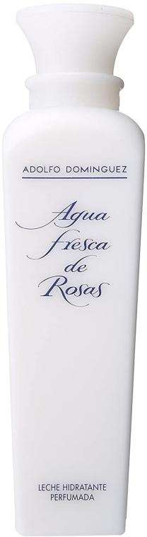 Adolfo Dominguez Agua Fresca de Rosas - Parfümierte Körpermilch — Bild N1