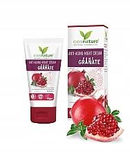 Düfte, Parfümerie und Kosmetik Straffende Anti-Aging Nachtcreme für das Gesicht mit Granatapfel - Cosnature Night Cream Pomegranate
