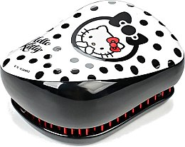 Kompakte Haarbürste - Tangle Teezer Compact Styler Hello Kitty Black Brush — Bild N4
