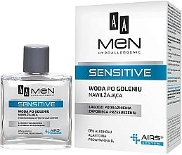 Düfte, Parfümerie und Kosmetik Feuchtigkeitsspendende After Shave Lotion - AA Men Sensitive After Shave Moisturising Lotion