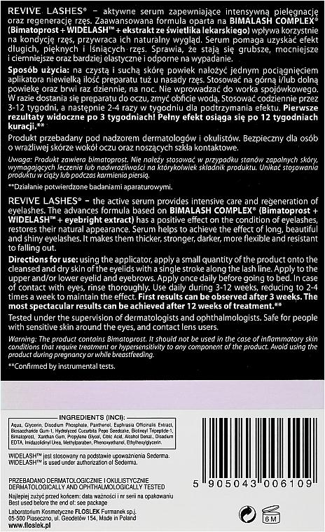 Wimpernserum zum Wachstum - Floslek Revive Lashes Eyelash Enhancing Serum — Bild N3