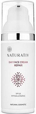 Tagescreme - Naturativ Day Face Cream Repair SPF 10 — Bild N1