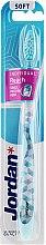 Düfte, Parfümerie und Kosmetik Zahnbürste weich Individual Reach hellblau - Jordan Individual Reach Soft