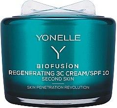 Düfte, Parfümerie und Kosmetik Regenerierende Gesichtscreme - Yonelle Biofusion Regenerating 3C Cream/SPF10