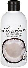 Düfte, Parfümerie und Kosmetik Shampoo und Haarspülung mit Kokosnuss - Naturalium Shampoo Coconut Pearled Shampoo With Conditioning Effect