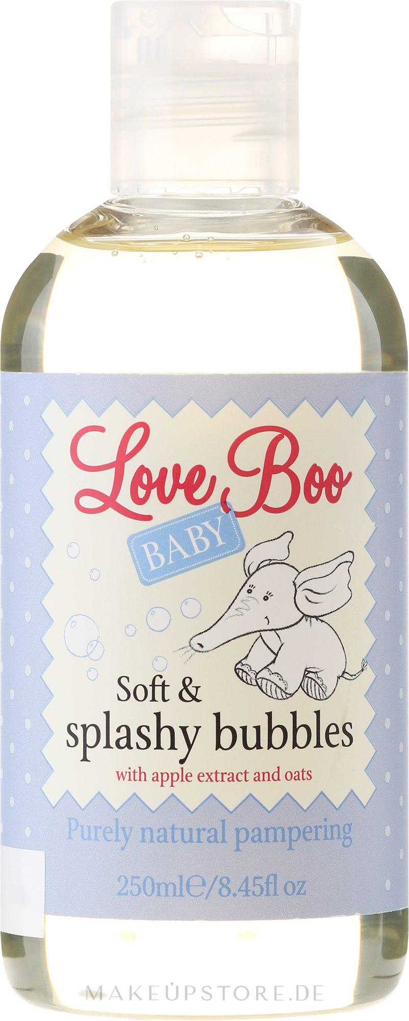 Baby Schaumbad - Love Boo Baby Soft & Splashy Bubbles — Bild 250 ml
