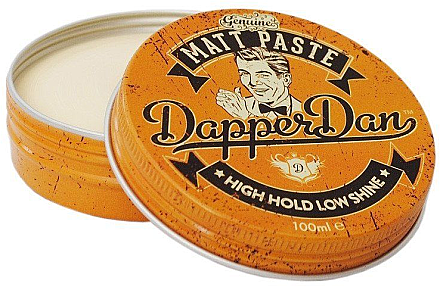 Mattierende Haarpaste für Männer - Dapper Dan High Hold Low Shine Matt Paste — Bild N1