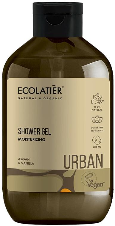 Feuchtigkeitsspendendes Duschgel mit Argan und Vanille - Ecolatier Urban Shower Gel — Bild N1