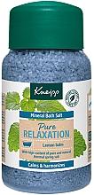 Düfte, Parfümerie und Kosmetik Badesalz Vollkommene Entspannung - Kneipp Mineral Bath Salt Pure Relaxation Lemon Balm
