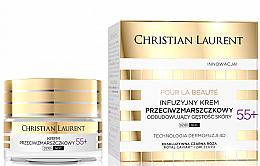 Düfte, Parfümerie und Kosmetik Regenerierende Anti-Falten mit Kaviar und Goldpartikeln 55+ - Christian Laurent Pour La Beaute