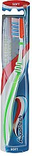 Düfte, Parfümerie und Kosmetik Zahnbürste weich Extreme Clean grün-weiß - Aquafresh Extreme Clean Soft