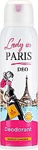 Düfte, Parfümerie und Kosmetik Deospray - Lady In Paris Deodorant