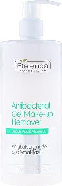 Antibakterielles Gesichtsreinigungsgel für Mischhaut - Bielenda Professional Face Program Antibacterial Gel Make-up Remover — Bild N1