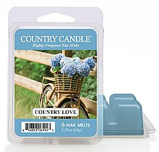 Düfte, Parfümerie und Kosmetik Tart-Duftwachs Country Love - Country Candle Country Love Mini Wax Melts